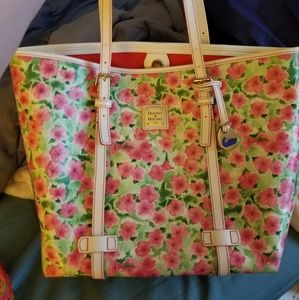 Rooney and Bourke flower tote